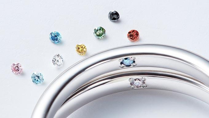 ふたりだけの想いを密かに刻む プロミスダイヤモンド