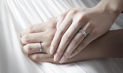 指輪装着イメージ
