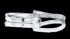 夏を感じる結婚指輪