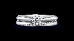 これからは指輪におふたりの絆の強さを決意として…