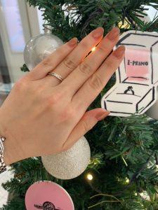 指に合わせたリング紹介第二弾☆【ご婚約指輪・ご結婚指輪はアイプリモ立川店へ】