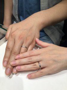 お客様の結婚指輪ご紹介