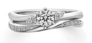 結婚指輪と重ね着けJewelry