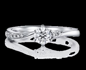 秋の星座にまつわる婚約指輪
