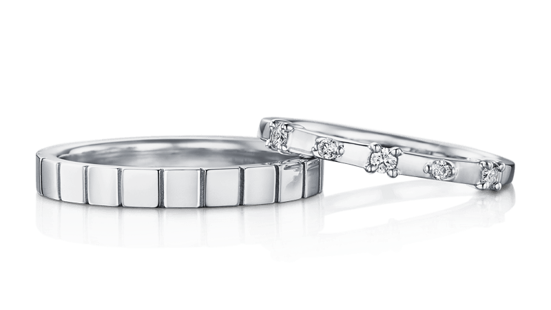 広島でおすすめの結婚指輪ショップ「アイプリモ」のリングデザイン例4