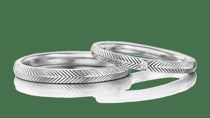広島でおすすめの結婚指輪ショップ「アイプリモ」のリングデザイン例5