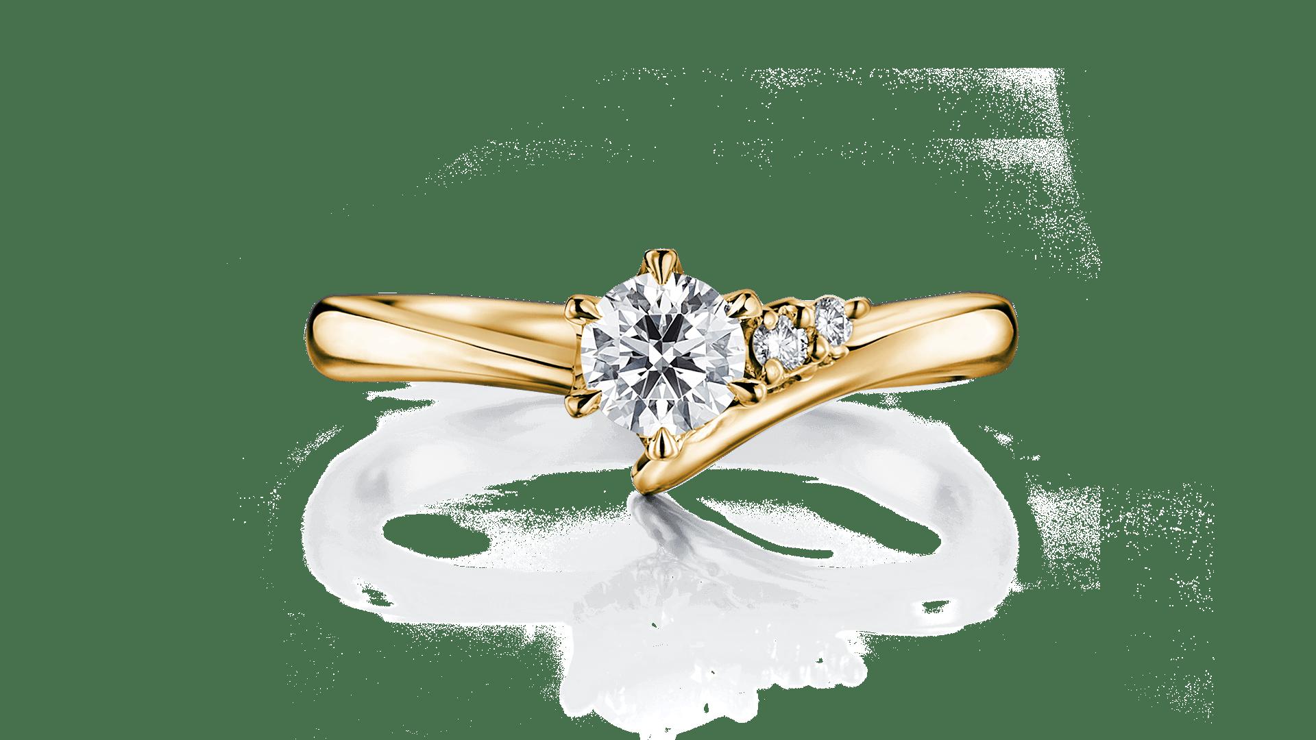 mira ミラ   婚約指輪サムネイル 1