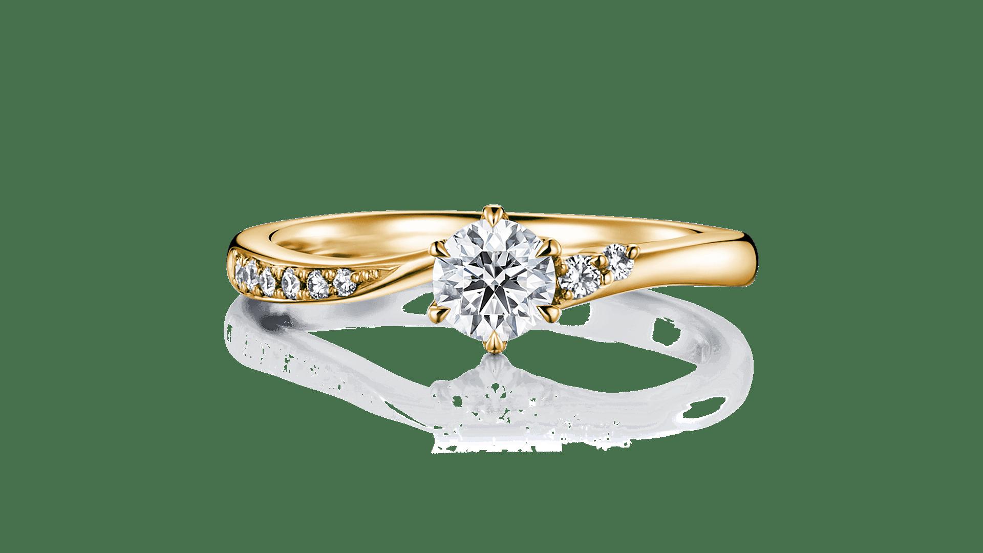 andromeda アンドロメダ   婚約指輪サムネイル 1