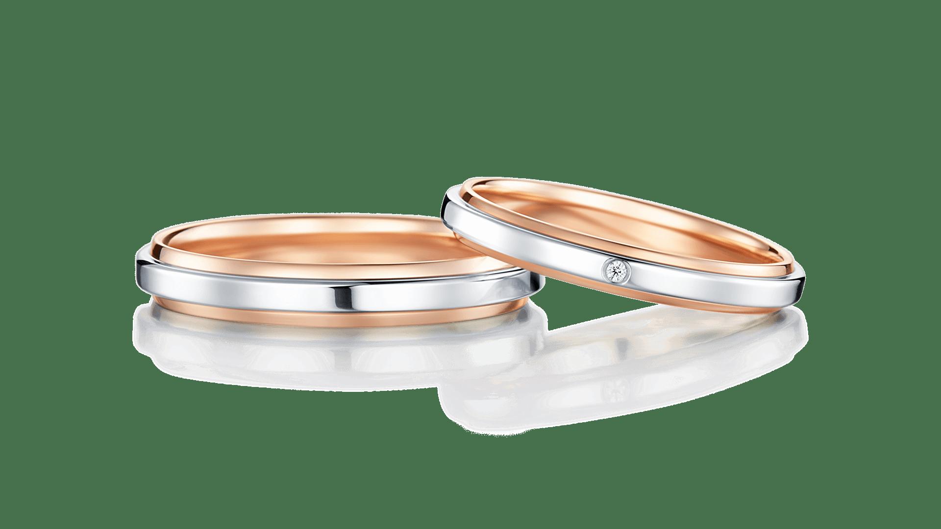 harmonia combination ハルモニア コンビネーション | 結婚指輪サムネイル 1