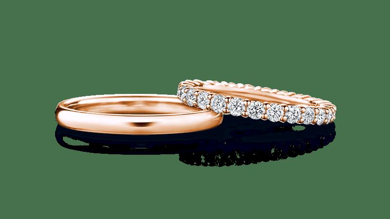juno×mani full ユノー(左)×マーニ・フル(右) | 結婚指輪