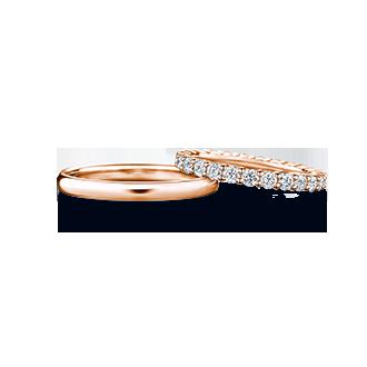 JUNO×MANI FULL ユノー(左)×マーニ・フル(右) 結婚指輪