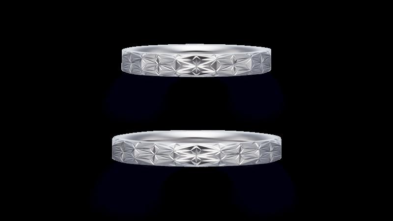 asanoha 麻の葉 | 結婚指輪
