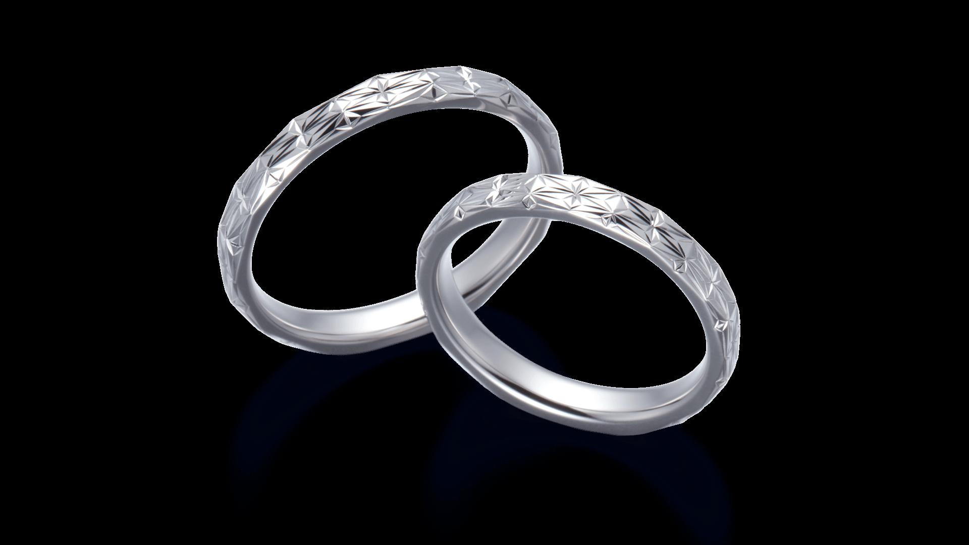 asanoha 麻の葉 | 結婚指輪サムネイル 2