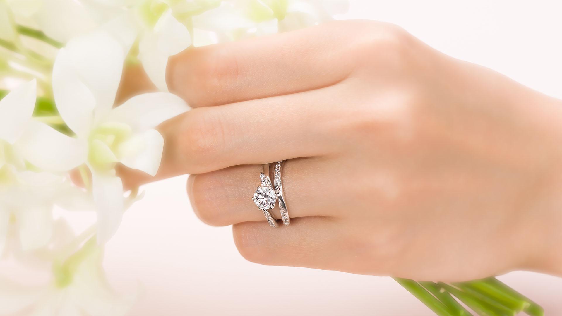 andromeda アンドロメダ | 婚約指輪サムネイル 6