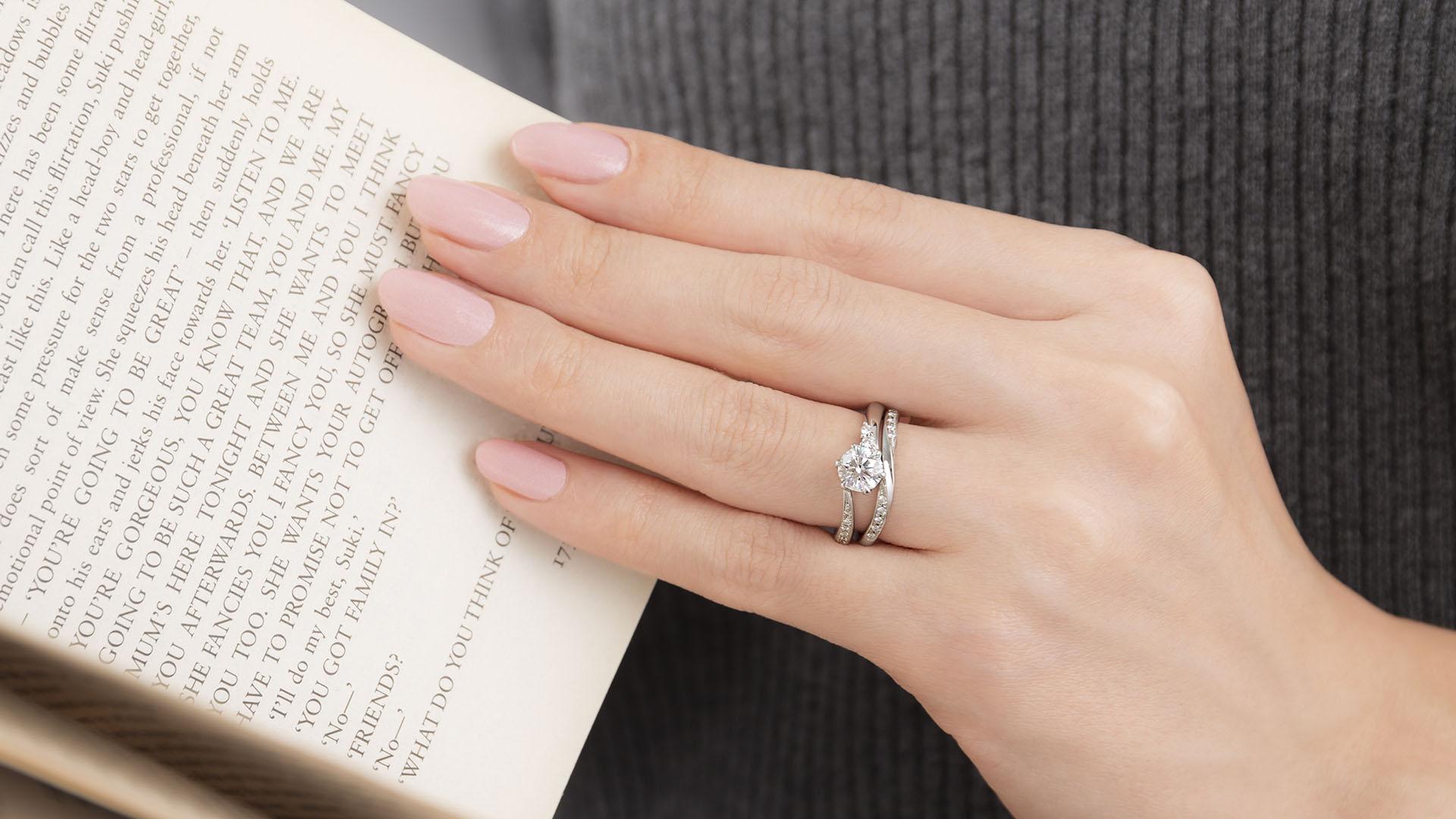 andromeda アンドロメダ   婚約指輪サムネイル 5