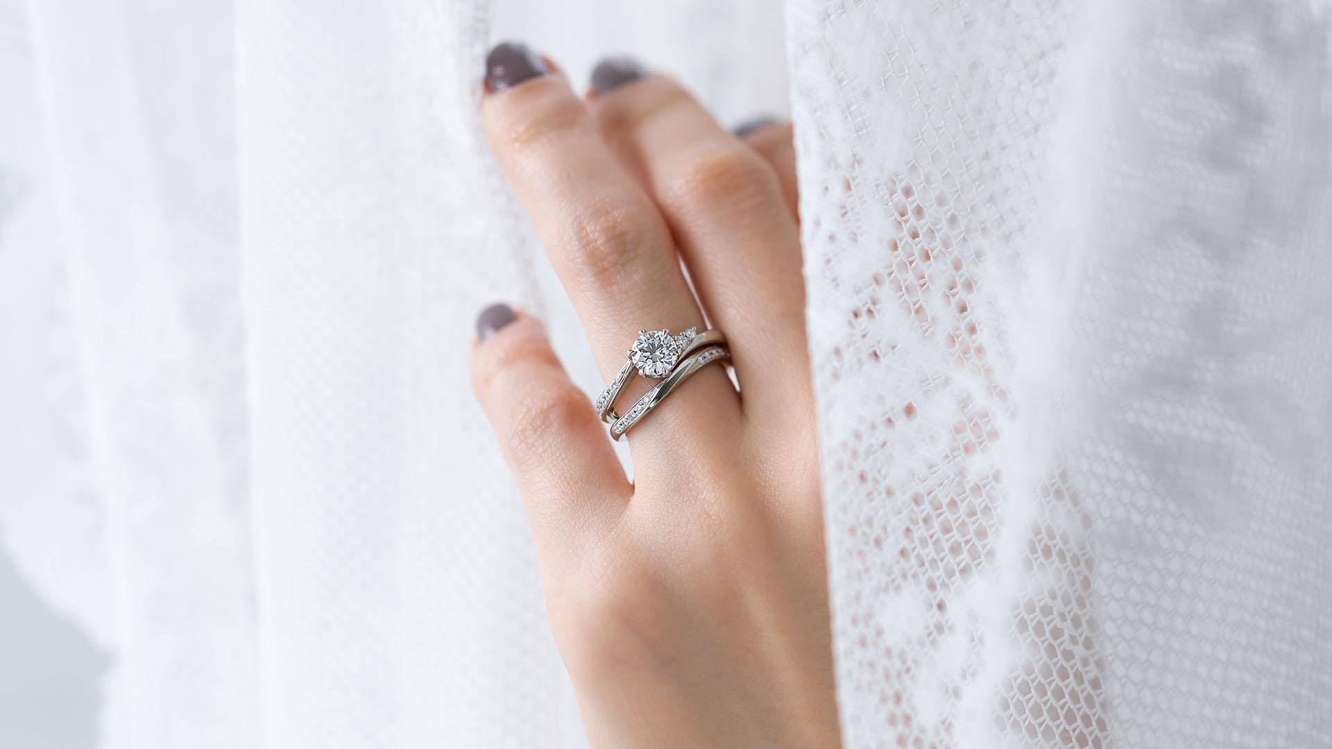 andromeda アンドロメダ   婚約指輪サムネイル 7