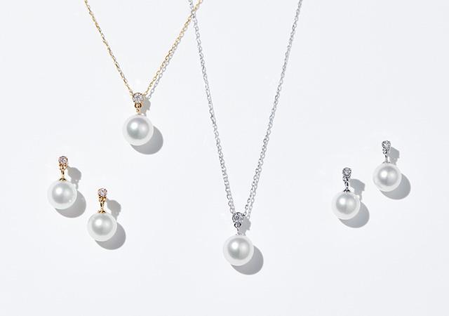 真珠のネックレスが発売されました♪