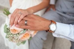 女性と男性それぞれの指輪の平均サイズ