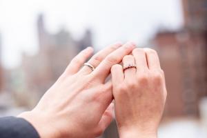 結婚指輪を着けるタイミング