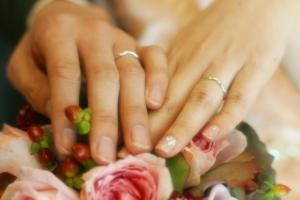 結婚指輪のデザインは?